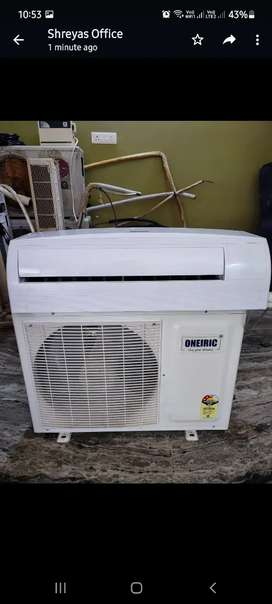 Oneric 1 ton 3 star ac for sale