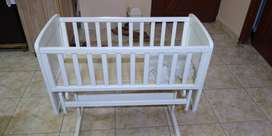bay cot with swing / baby cradle