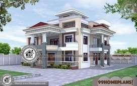 3 Story House 135 Sq Yard Area **JDA Aprroved ##Main Sirsi road