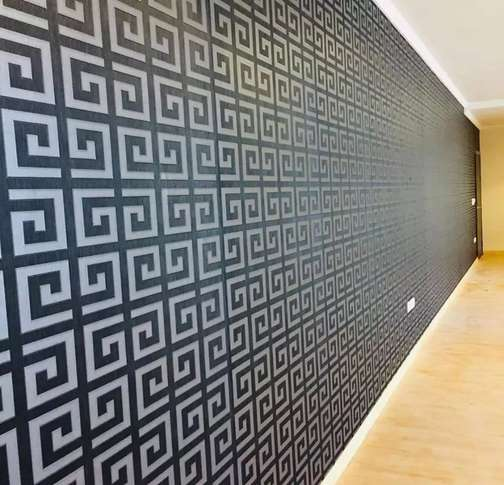 PVC Vinyl Plank in all over the lahore wooden floor wallpapers blinds