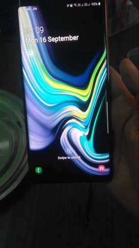 Samsung note 9 mint condition