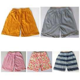 PYJAMA SET Export summer stocklot wholesale garments t-shirt