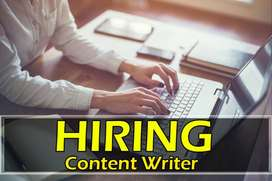 Full Time Article Writing Job (home based)