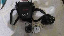 Canon 350 D  with 18/55 lens in mint condition