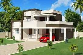 Duplex with land at danapur shiwala