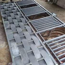 Jasa pembuatan / tempahan jerjak kanopi pagar dll