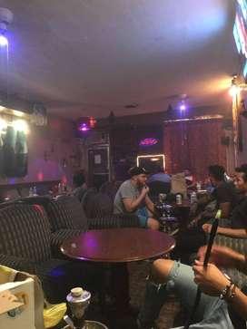 1700 sqft full flazes hookah cafe rent in Sarat bose road Rent -155000