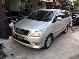 Toyota Kijang Innova /Inova Tipe G AT Automatic Tahun 2012 Mulus, 2013