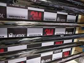 Kaca film mobil murah hitam pekat siap kerumah