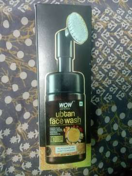WOW face wash