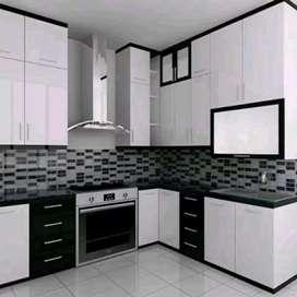 Kitchen set MuRah Mewah FinishiNg hpL