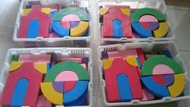 Balok warna dan natural untuk TK dan paud