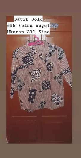 Preloved baju batik