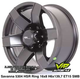 pelek model SAVANNA 5304 HSR Ring 15x8 H6x139,7