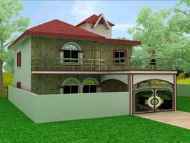 very beautiful 2 tower bungalow at ormanjhi