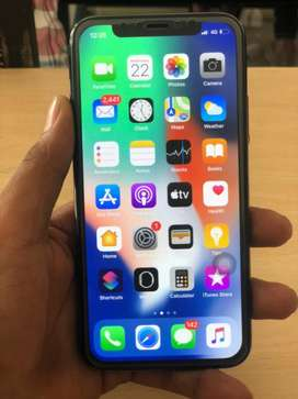 iphone X 256gb gud condition mbl and charger only