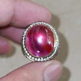 Batu Natural Ruby Kristal Mumbul
