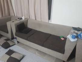 5 seater sofa set in good condition