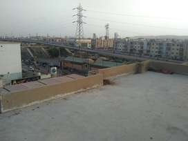 Flat for Sale with Roof Top at Nagan Chowrangi