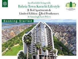 4th Floor 2 Bed Apartment, Bahria Central Park Apartments