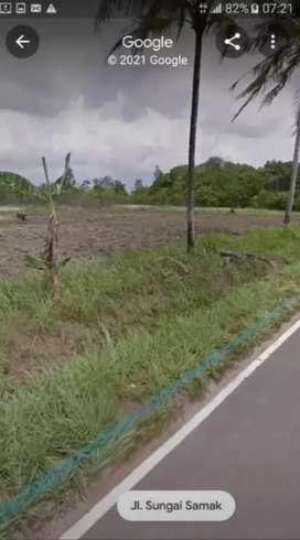 Tanah pinggir jalan nasional kec badau belitung