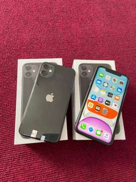 iphone 11 128Gb black fullset muluss