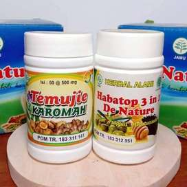 OBAT HERBAL HEPATITIS LIVER AMPUH!! TEMUJIE HABATOP 3IN1 DE NATURE