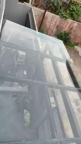 Kanopi atap kaca 2947