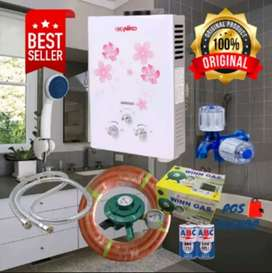 Water Heater LPG Komplit