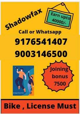 Shadowfax hiring riders for chennai