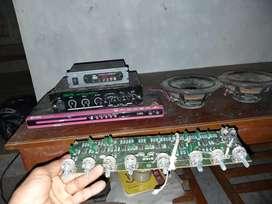 Audio mobil rakitan sendiri(power mp3)