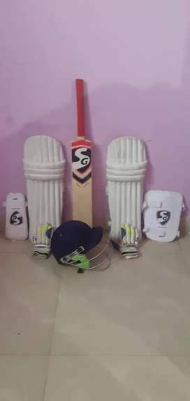 Cricket kit new sg full set 5 month old sg company