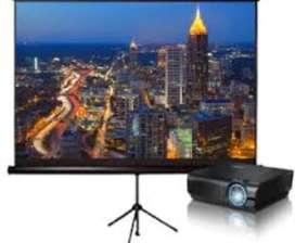 Projector on Rent with all