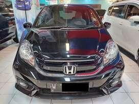 Honda NEW BRIO 1.2 E M/T 2018 Hitam Odo. 55 ribu