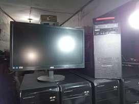 Komputer monitor aoc 20in