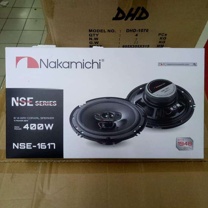 Speaker Coaxial Nakamichi NSE 1617 0