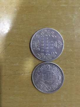 Old coins from 1907