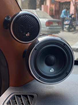 3way mid base component and tweeters