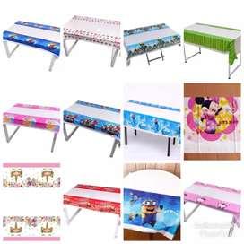 Table cover / Taplak meja karakter / Taplak meja ulang tahun