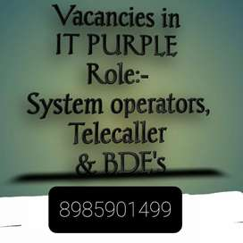 Few vacancyes are available