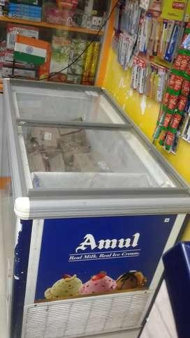 Amul branded , ICECREAM Freezer