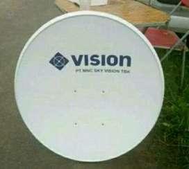 Indovision Mnc Vision Family Pack sinyal bagus tahan hujan