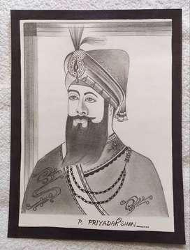 Guru Gobind Singh Ji's Portrait