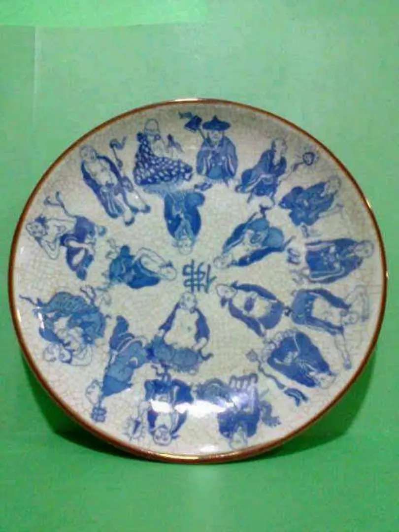 Piring antik dinasti ming zaman Majapahit 0