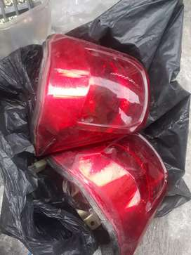 Lampu stop new megapro 2buah