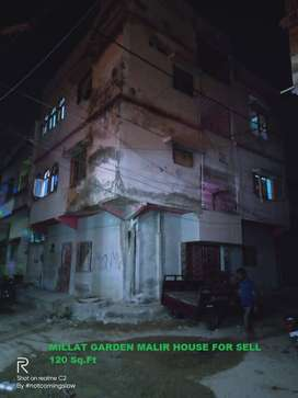 ground + 2 old construction house for sell