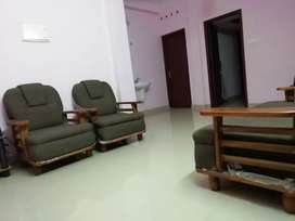 2bhk furnished apartment near ust infosys