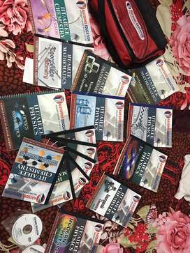 IIT / AIEEE video educational series ( 16 books and 23 CD's )