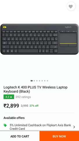 Logitech keyboard brand new