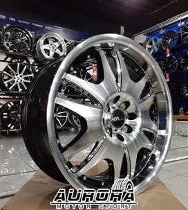 Pelek racing mobil Kijang/Avanza tipe Vegas HSR ring 17